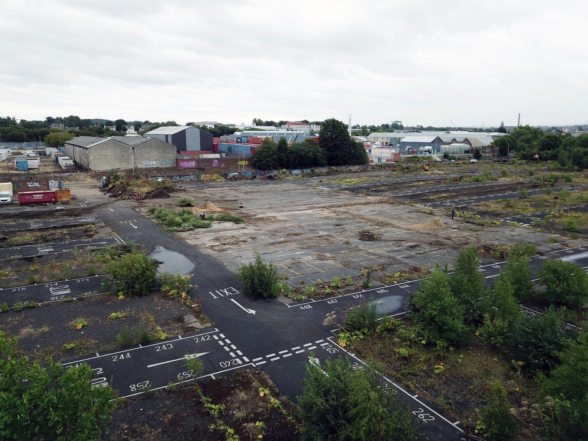Glasgow Airport Car Park